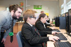 computing teacher trainee
